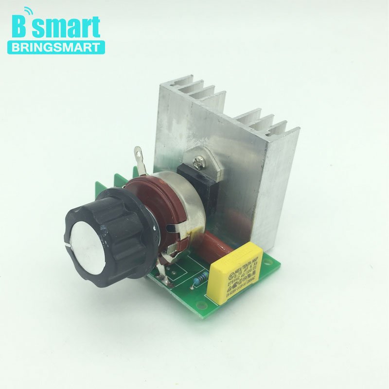 Wholesale 3800W SCR Electronic Voltage Regulator 0-220V AC Speed Control Controller Dimming Adjust speed Adjust temperature
