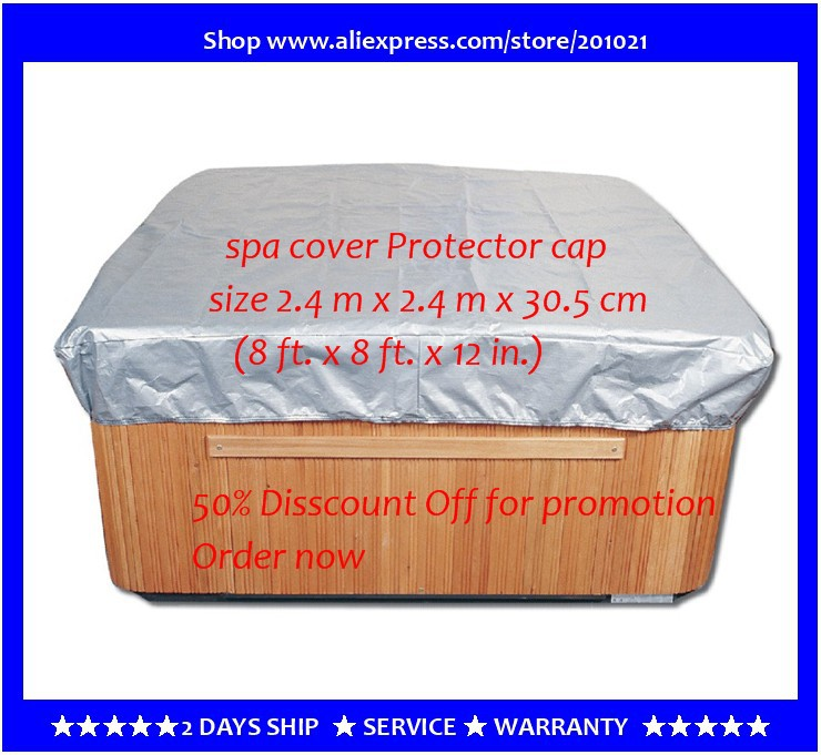 spa cover cap 244 x 244 x 30.5cm good item for protecting hot tub , spa cover T Shirt