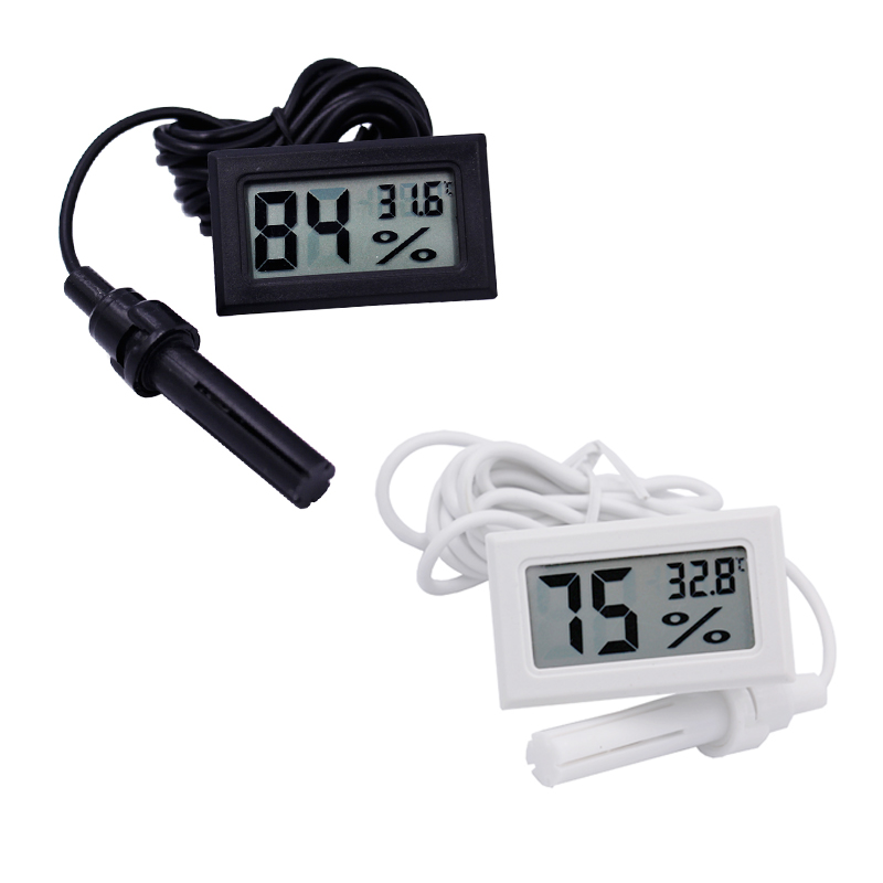 10pcs LCD Digital Mini Thermometer Humidity Tester Hygrometer Temp Gauge Temperature Meter Monitor Electronic 40% off
