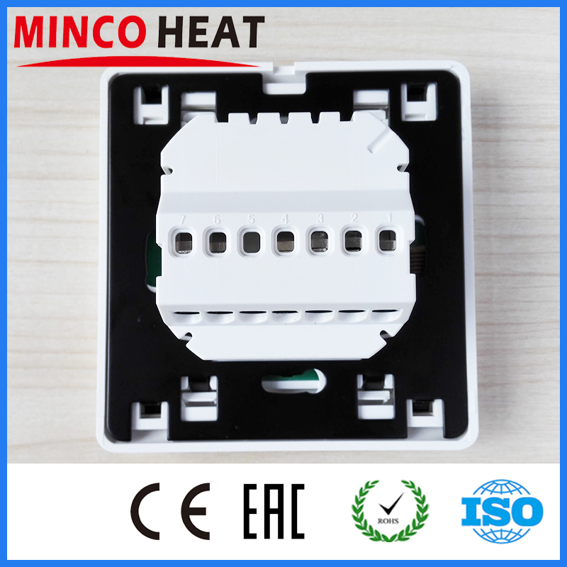 MINCO HEAT LCD Programmable Digital Room Floor Heating Thermostat Touch Screen Warming Floor Temperature Controller