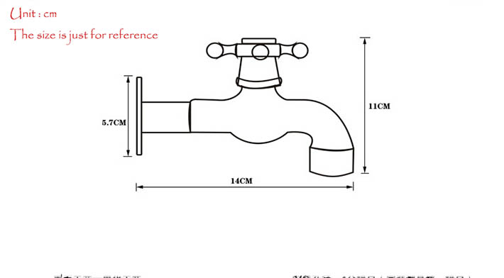 Home garden brass faucet water tap outdoor wall mixer oil rubbed bronze