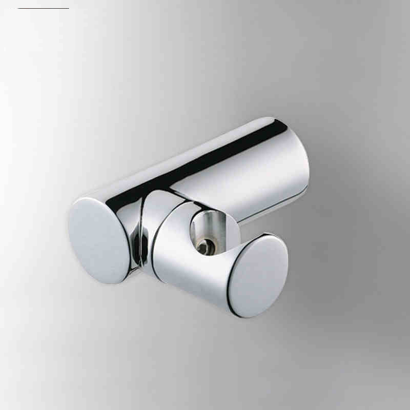 Bathroom Kit Rotating Hand Held Shower Head Faucet Holder Hook Pedestal Bracket Brass Chrome Polish In Wall Toilet bidet AZPJ005