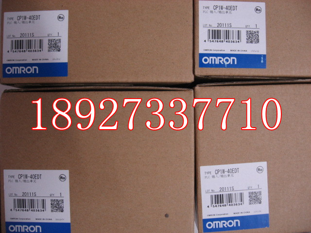 [ZOB] New original omron Omron programmable logic controller CP1W-40EDT