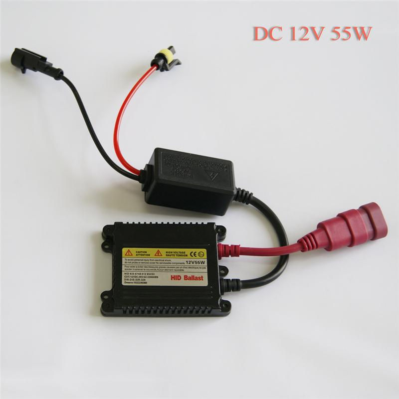 2015 Promotion New 1x55w 12v Electronic Digital Car For Bi Xenon Conversion Headlight For Ballast Replacement Universal