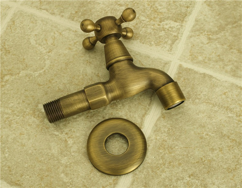 Antique finishing washing machine tap in wall installing fast on tap / washing machine faucets