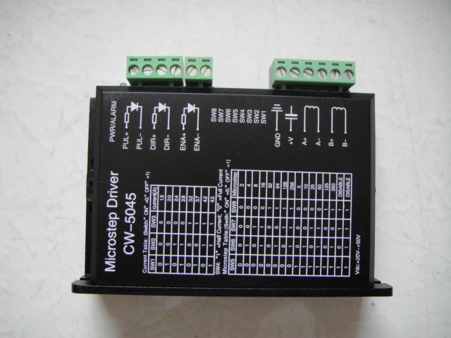 CW5045 Stepper Motor driver for 57/86 stepper motor,DC50V 4.5A Stepper driver