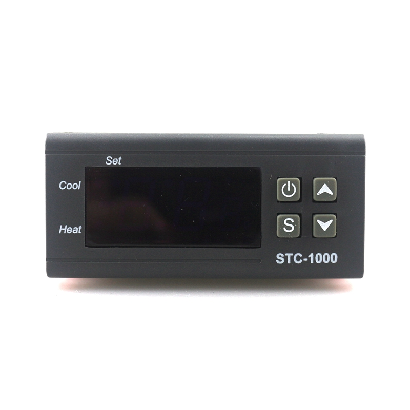 DC12V/10A Dual Relay Output Digital temperature controller Thermostat Incubator LED Display Heat and Cool