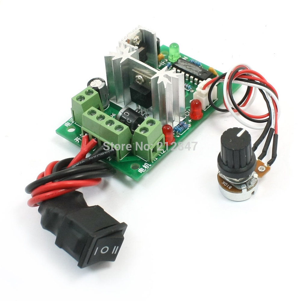 10V 12V 24V 30V 150W PWM Adjustable Volt DC Motor Speed Controller CCM2