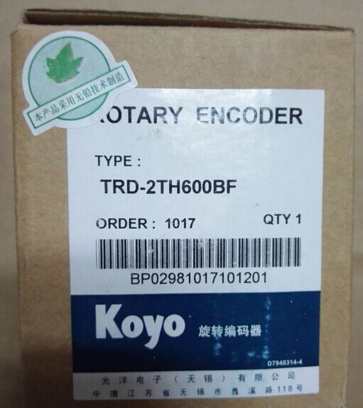 Freeship Koyo  encoder TRD-2TH600BF hollow shaft  incremental rotary encoder high performance 1 year warranty