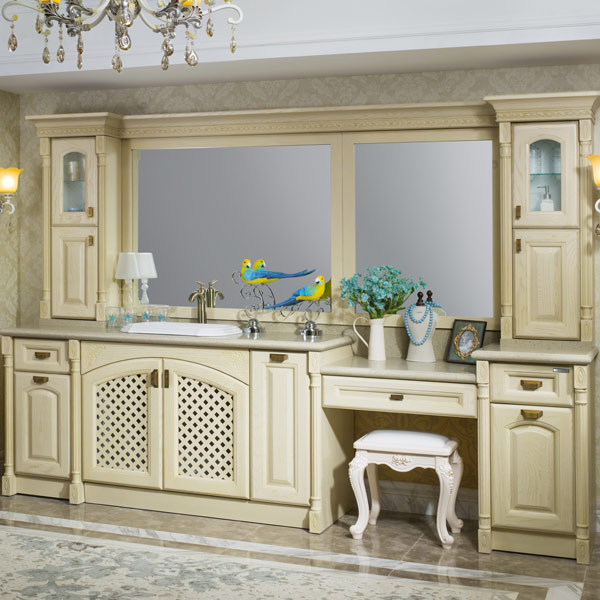 2014 New Design Luxury Bathroom Vanity Stainless Steel Bathroom Cabinet