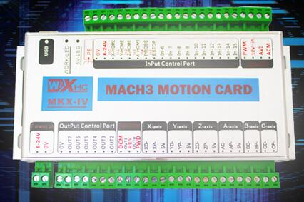 6Axis USB CNC Mach3 Controller Card Interface Breakout Board 2000K