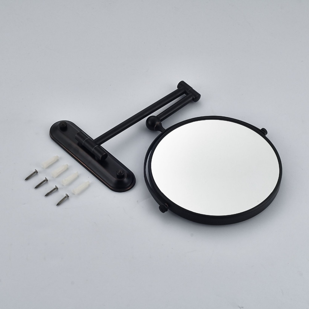 "Wholesale and Retail Oil Rubbed Bronze Dual Sides 8"" Makeup mirror"