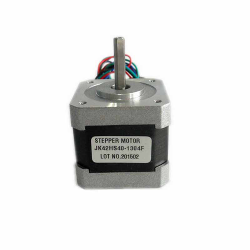 1.8degree 42BYG 2 phase hybrid NEMA17 stepper motor 42HS40-1304F 40mm direct line D axis Single Flat 3.4V 1.3A 4-wire 4.1kg.cm