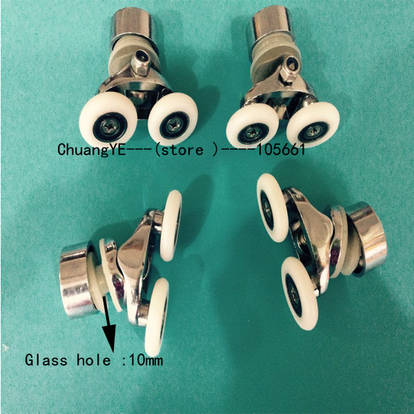 25mm Shower door rollers wheels pulleys pulley
