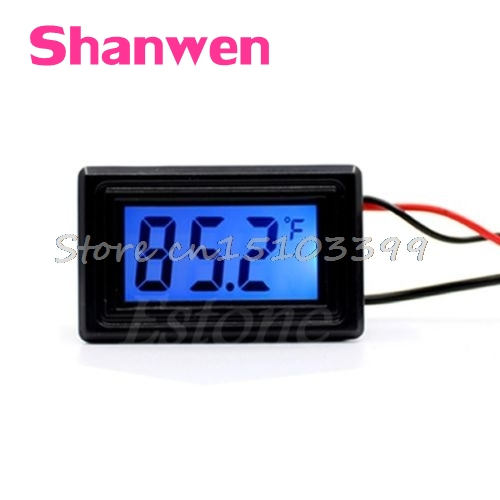 WH5001 Celsius/Fahrenheit Digital Thermometer Temperature Meter Gauge C/F #G205M# Best Quality
