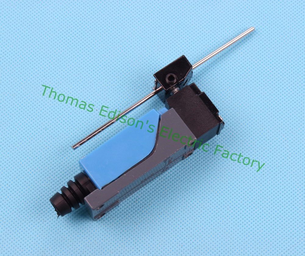New 5PCS ME-8107 250VAC 5A 115VDC 0.4A Waterproof Rotary Lever 1NO+1NC Momentary Limit Switch