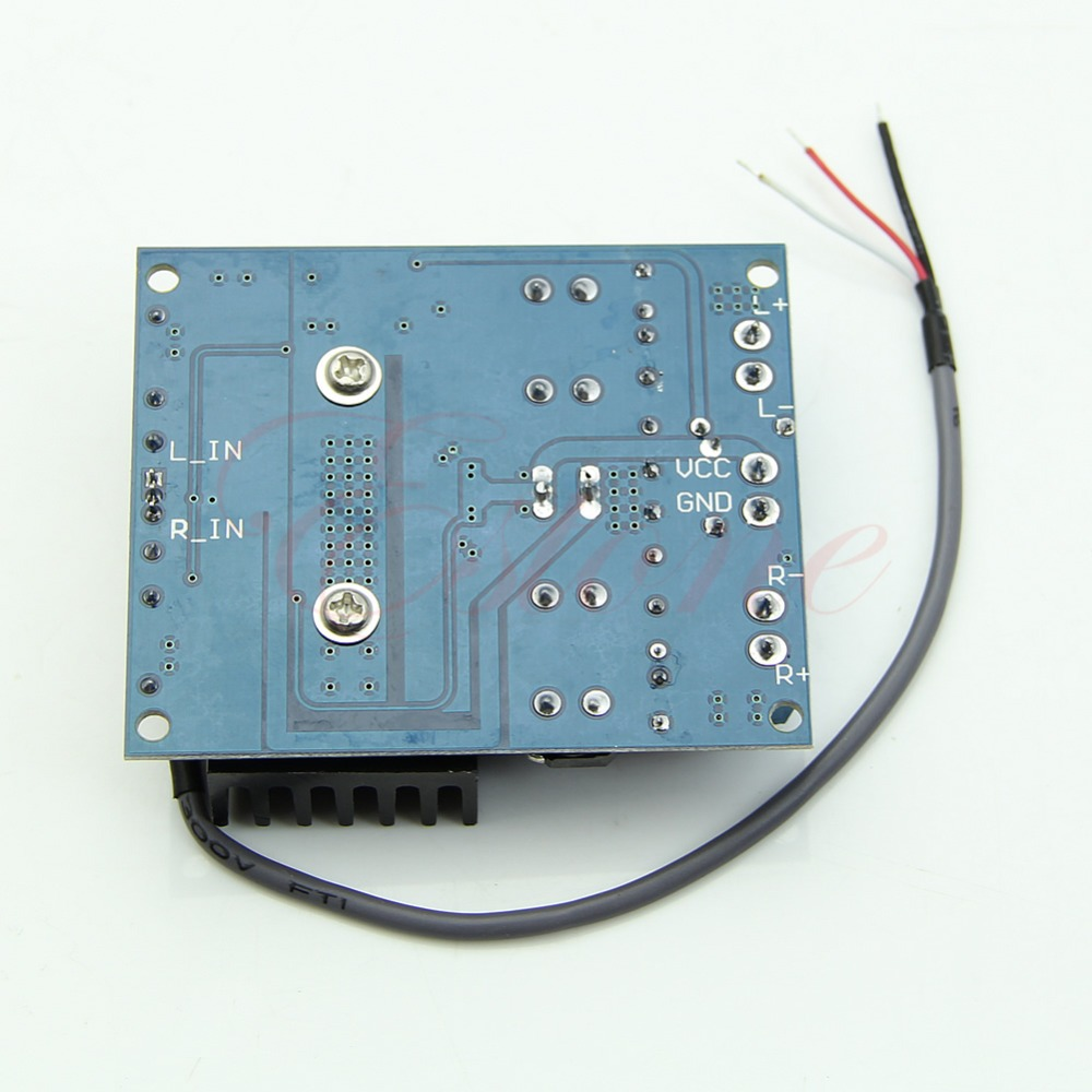 C18   Hot Sale TDA7492 D Class High-Power Digital Amplifier Board 2x50W AMP Board with Radiator