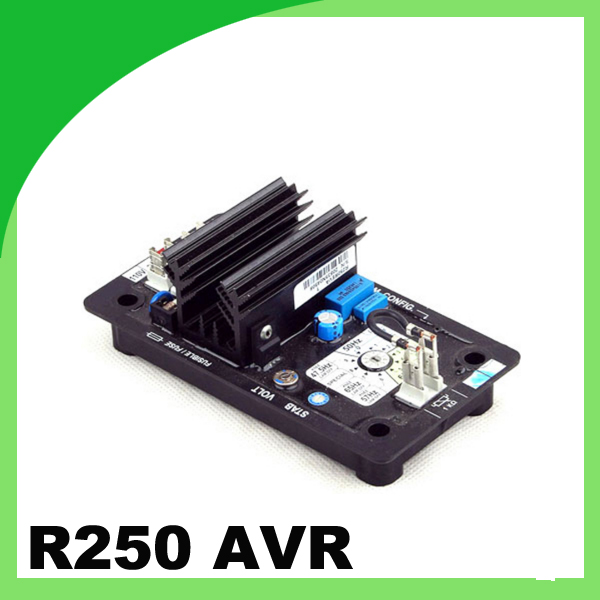 R250 brushless type generator parts avr automatic voltage regulator