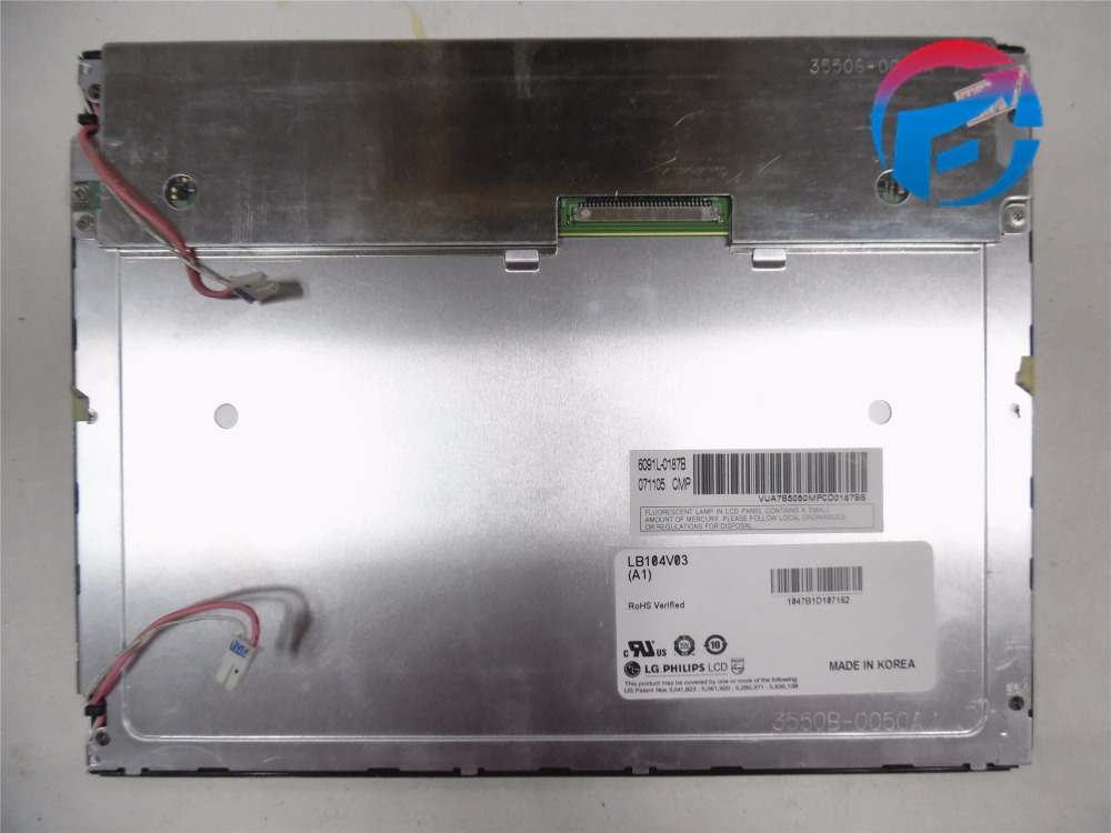 "LB104V03-A1 10.4"" LCD Panel 640*480 for Injection Molding Machine New & original"