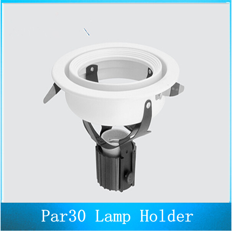 PAR30 Lamp Housing E27 Holder Spotlight Bracket LED Spotlights Frame 10PCS