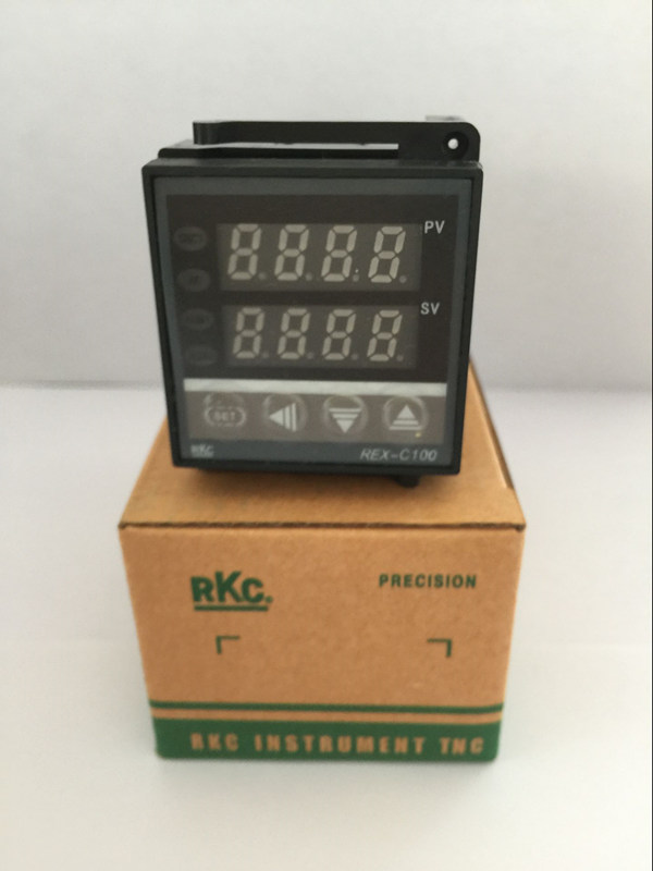 New Dual Digital PID Temperature Controller RKC REX-C100 48*48 k type