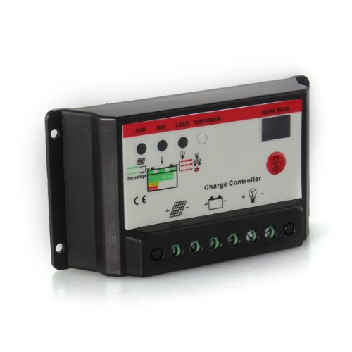 Promotion! Regulator charging solar panel solar panel controller 30A 12 / 24V