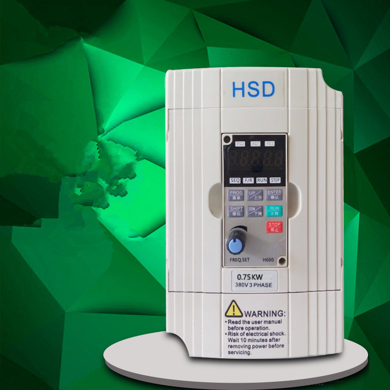 0.75KW 1HP 400HZ VFD Inverter Frequency converter single phase 220v input 3phase 380v output 2.5A for 0.5HP motor