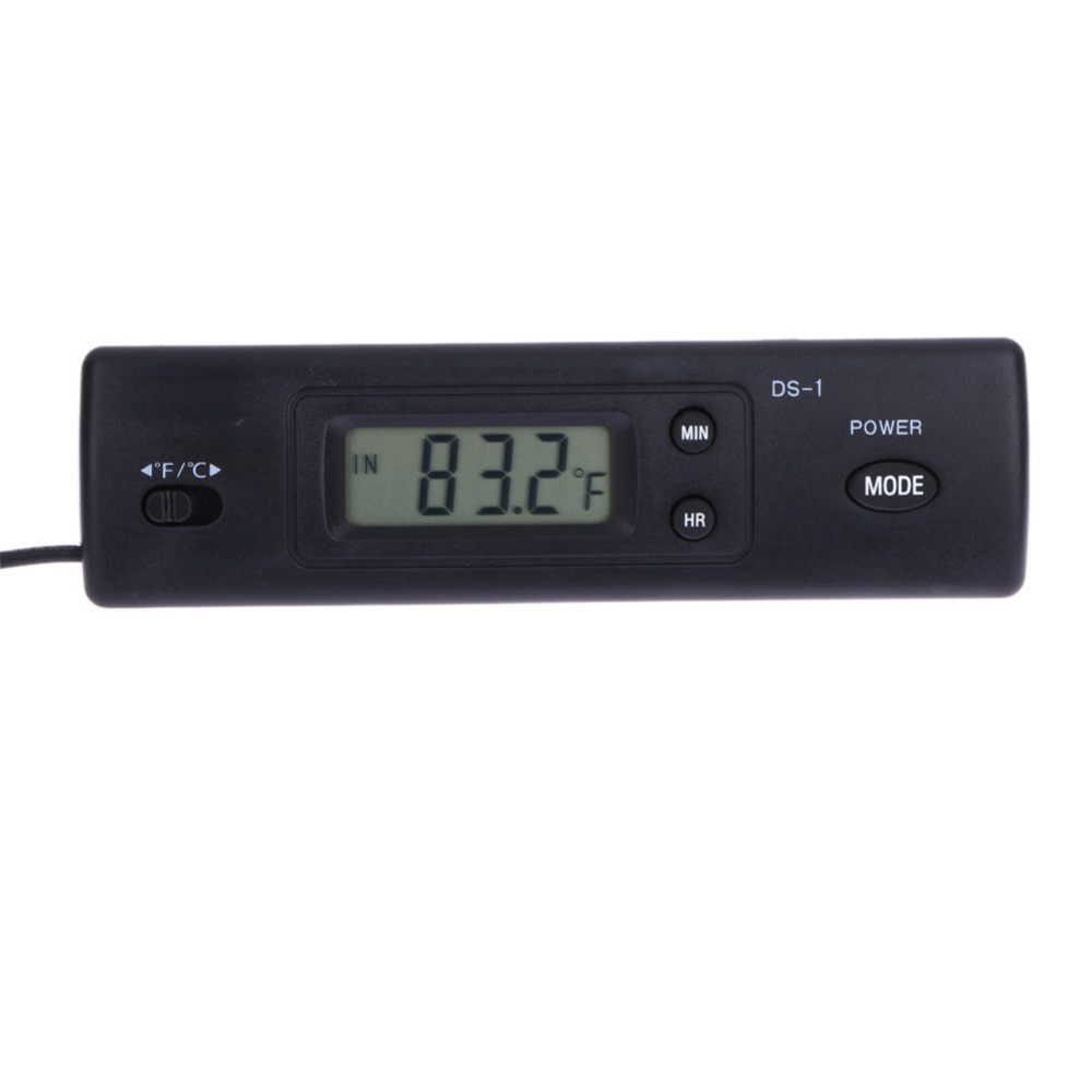 Promotion Digital Thermometer Auto LCD Display In Out Clock for Car Home Vehicle Termometro for Refrigeration Plant