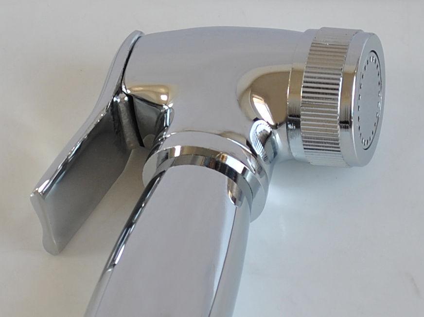 Toilet Brass Handheld Bidet Spray Shattaf Kit Sprayer Holder