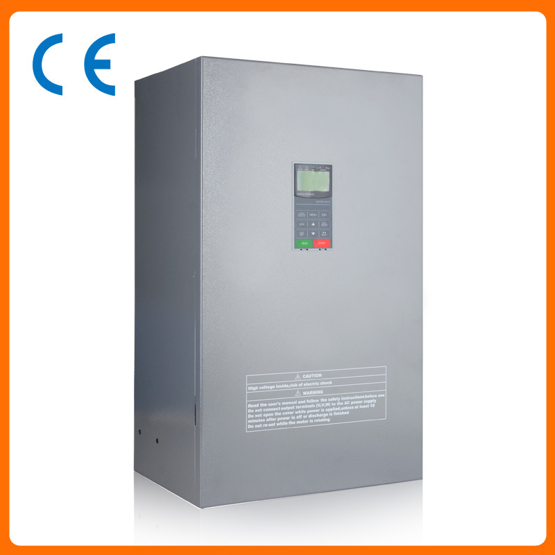 110kw 150HP 300hz general VFD inverter frequency converter 3phase 380VAC input 3phase 0-380V output 210A