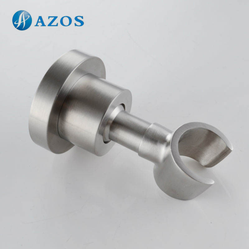 Shower Head Bracket Holder Stepless Adjustable Wall Mount, Brushed SUS304 Stainless Steel HSZ012