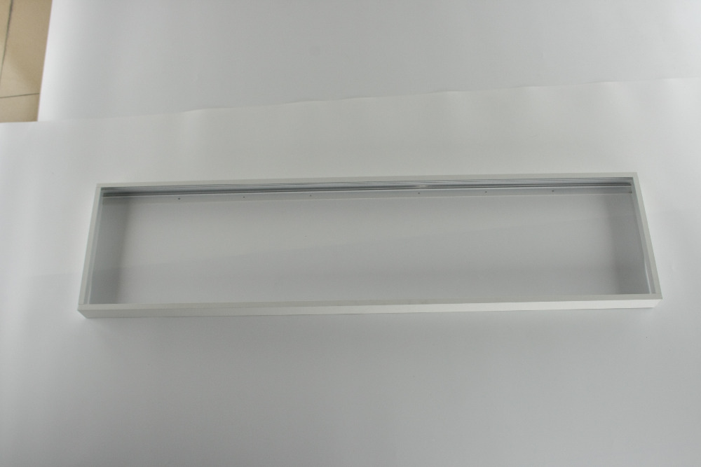 free shiping Surface mounted ceiling bracket 300x1200X50mm led panel lighting product aluminum alloy material super thin design