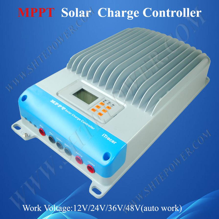 45a 48v mppt solar charge controller 150v,new IT4415ND solar controller