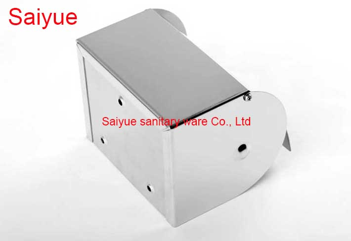 Modern Smooth Bathroom salle de bain Accessories 304 Stainless Steel Toilet Paper Holder WC Cover  Roll Tissue Rack Shelf