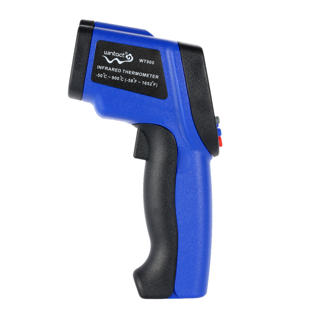 -50~900 degrees Digital LCD Laser IR infrared thermometer Non-Contact termometro Professional Temperature Tester Pyrometer Range