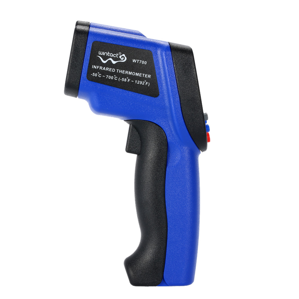 -50~700 degrees mini Digital IR Infrared Thermometer Non-Contact laser Temperature Tester diagnostic-tool termometro Pyrometer