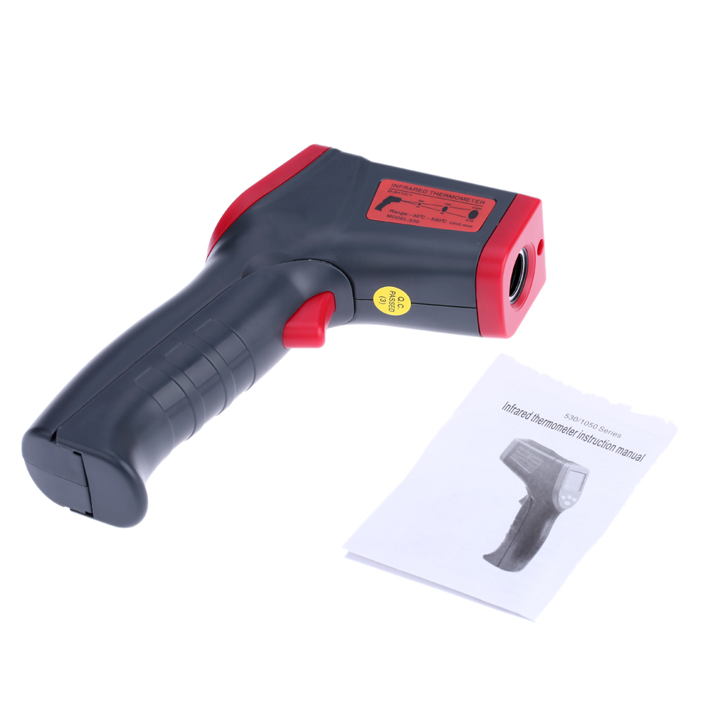 Handheld Digital Infrared IR Thermometer Temperature Tester Pyrometer termometro digitale thermometre estacion metereologica