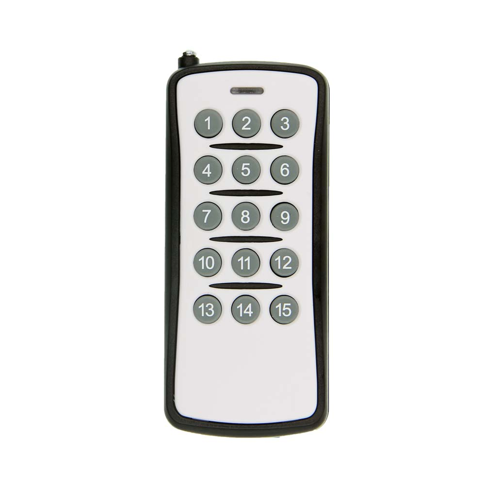 15 CH Channels 15CH RF Wireless Remote Control,315/433.92 MHZ Transmitter,Learning Code  PT2262