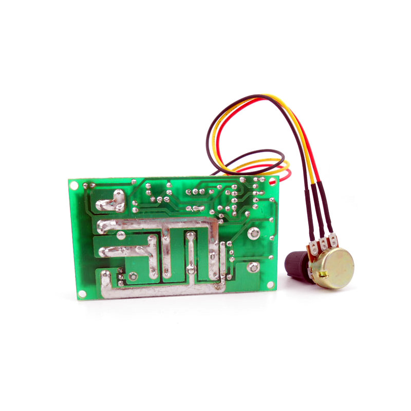 DC motor speed regulator 12V 24V 36V 48V High power drive module PWM Motor speed controller 20A current regulator