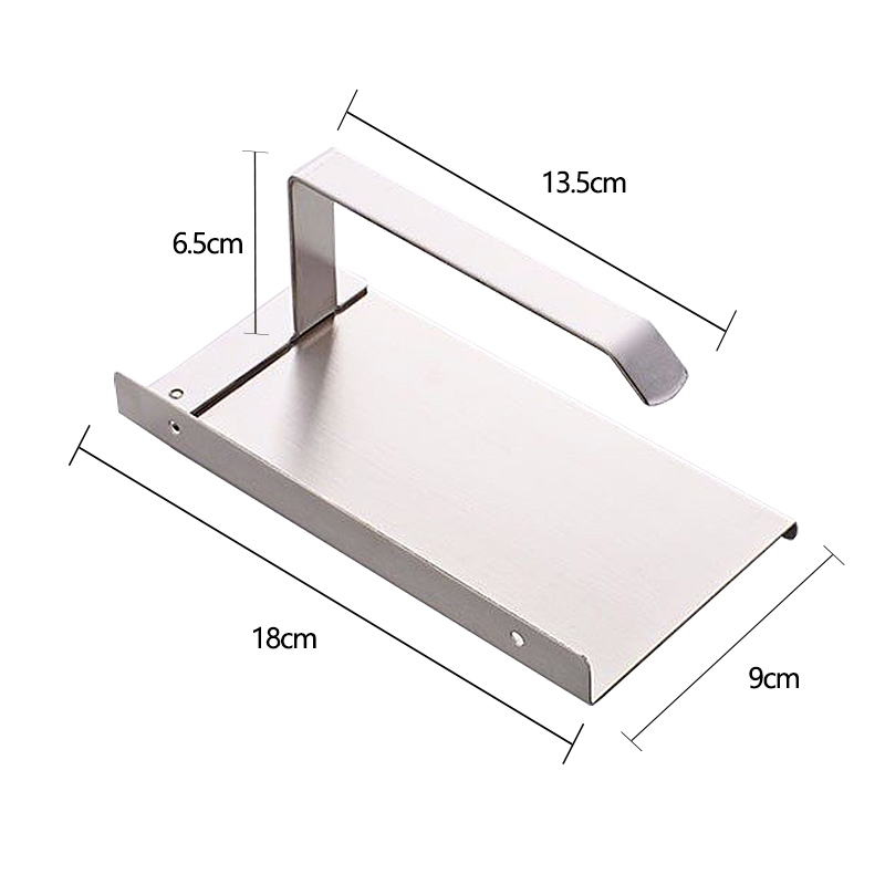 jooe New Arrival Stainless Steel Toilet Paper Holder with Mobile Phones Holder Bathroom Accessories Porta Papel Pigienico je014