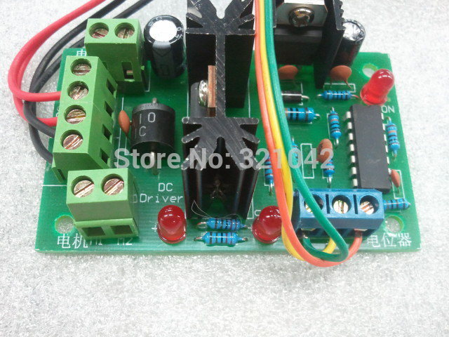 6V-30V 10A 0% -100% Pulse Width Modulation PWM DC Motor Speed Controller Switch