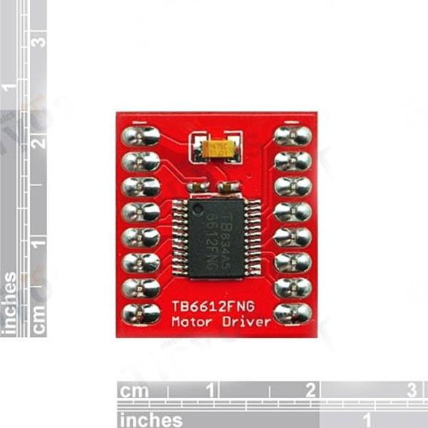 5PCS Dual DC Stepper Motor Drive Controller Board Module TB6612FNG Replace L298N