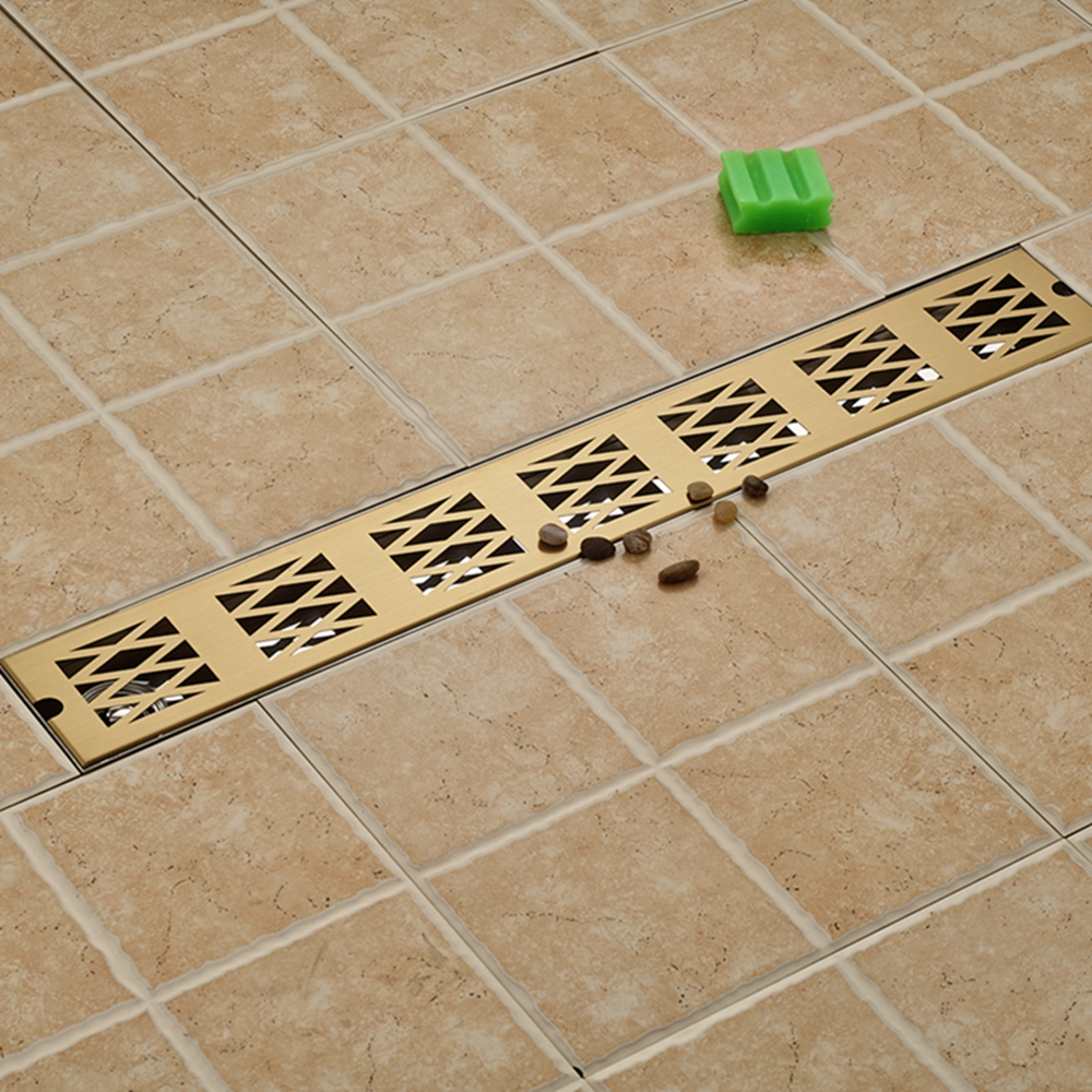 Modern Square Stainless Steel Bathroom Grate Waste Floor Drain