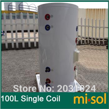 100 Liter Solar Water Heater Tank 220V , with copper coil, with electrical element, solar water tank