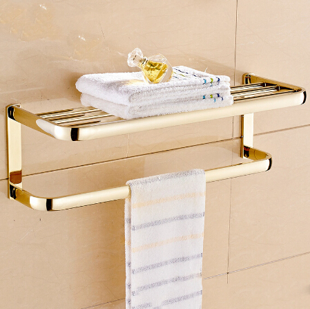 New arrival Towel Racks Luxury Bathroom Towel Rail Holder High Quality Bath Towel Shelves