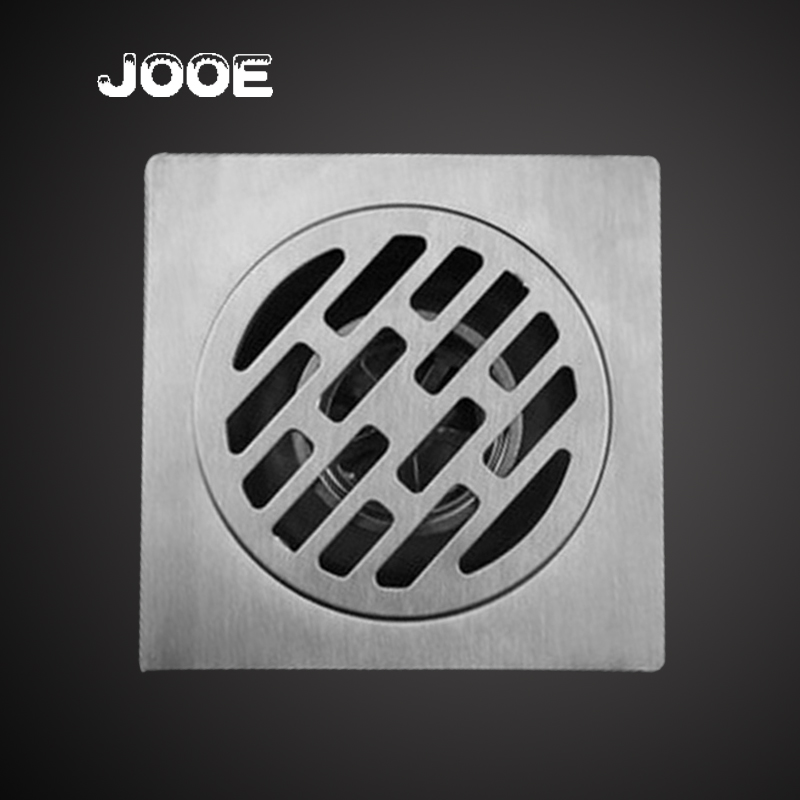 NEW 10*10 cm Stainless Steel Floor Drain Square anti-odor Deodorization Type Drains Cover for Kitchen Bathroom hardware j003