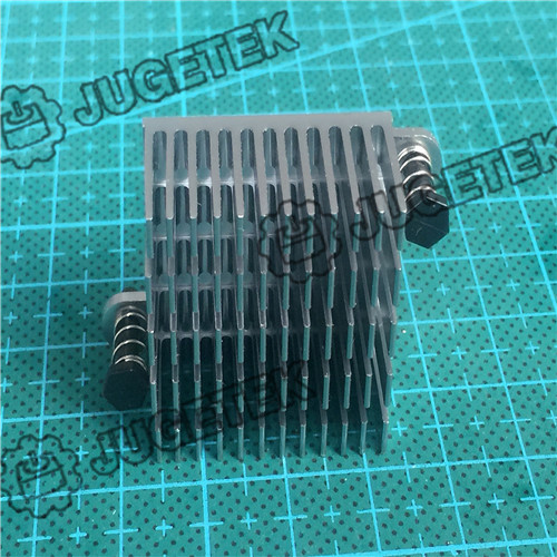 10pcs/lot  30mm length 28mm width 15mm height   High Quality Super Heat Conduction Aluminum Silver Heatsink with Tow Ears