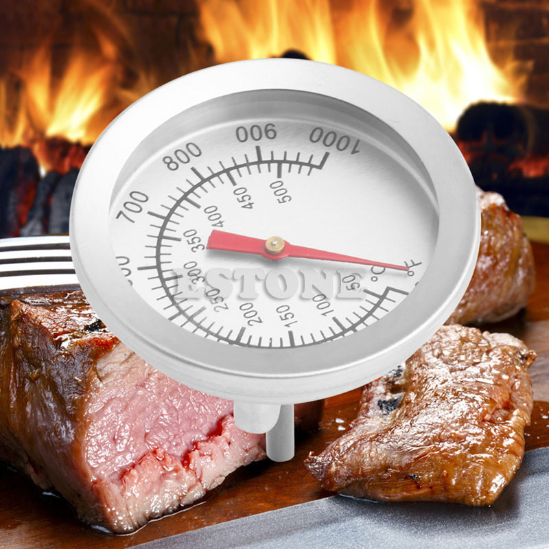 50-500 centigrade Stainless Steel BBQ Barbecue Smoker Grill Thermometer Temperature Gauge