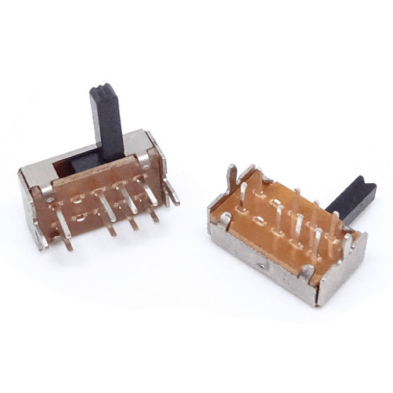 30pcs Interruptor Mini Slide Switch on-off 8pin 2P3T, toggle switch Handle length: 3MM SK-23D07 High quality