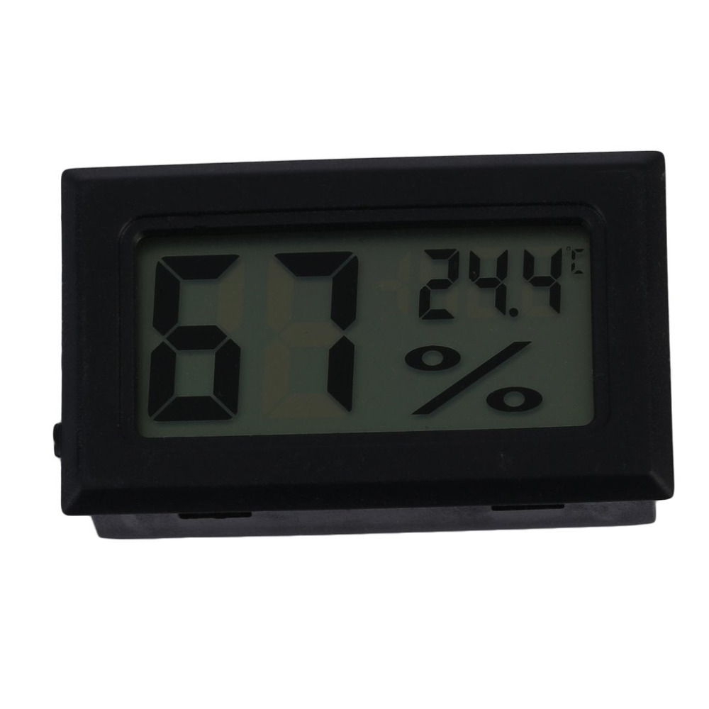 Hot Search 1pcs Digital LCD Hygrometer Temperature Humidity Meter Thermometer -40~70C 10%~95%RH High Quality